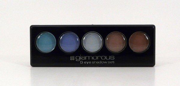 Glamorous Cosmetics 5 Color Eyeshadow Makeup - Gaia