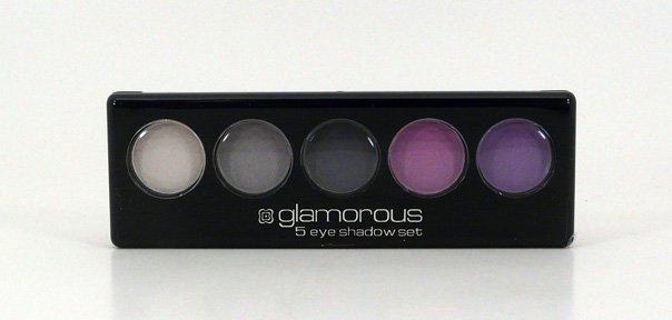 Glamorous Cosmetics 5 Color Eyeshadow Makeup - Artemis