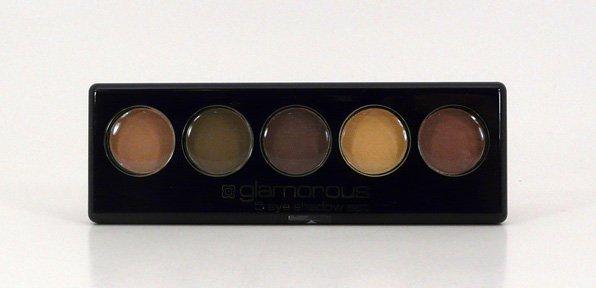 Glamorous Cosmetics 5 Color Eyeshadow Makeup - Demeter