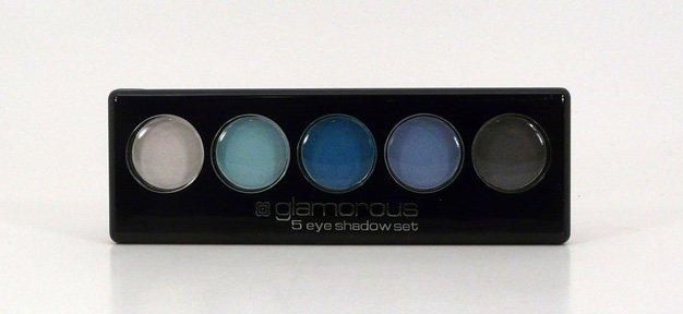 Glamorous Cosmetics 5 Color Eyeshadow Makeup - Amphitrite