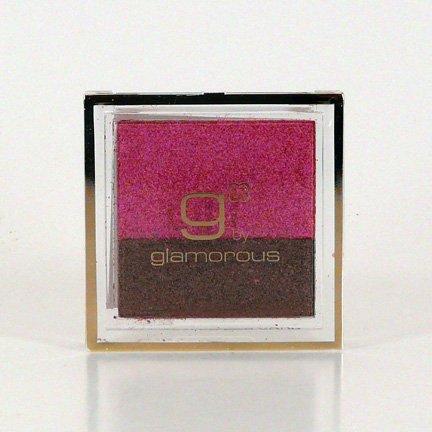 Glamorous Cosmetics Double Eyeshadow Makeup - Chocolate Raspberry