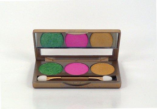 Glamorous Cosmetics 3 Color Eyeshadow Makeup - Lacerta