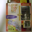3PC LOT OF TIDY CABLE KIT ( 3 KITS FOR 1 PRICE )