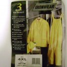 RAIN SUIT 3 PC (SIZE 4X ONLY) IRONWEAR BRAND