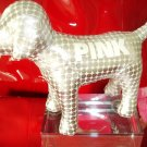 VICTORIA SECRET PINK MINI DOG SILVER METALLIC X-MAS 2009