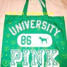 VICTORIA SECRET PINK BEAUTIFUL BLING CANVAS TOTE BAG 86