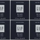 6 x GAP BLUE FOR HIM NO 655 EDT PERFUME MEN 50 ML/ 2 OZ
