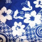 HOLLISTER WOMEN BLUE FLORALS COTTON SCARF FASHIONABLE