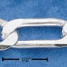 """STERLING SILVER 18"""" FIGAROA CHAIN (8 MM) ( fig220 )"""