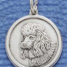 Sterling Silver JEWELRY Poodle ID Charm ( CH-1199 )