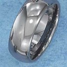 TUNGSTEN STEEL 8MM HIGH POLISH WEDDING BAND (p10613)