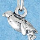 STERLING SILVER JEWELRY THREE DIMENSIONAL PENGUIN CHARM {P11617}