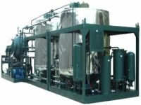 HY Series Used Engine oil purifier with trailer
