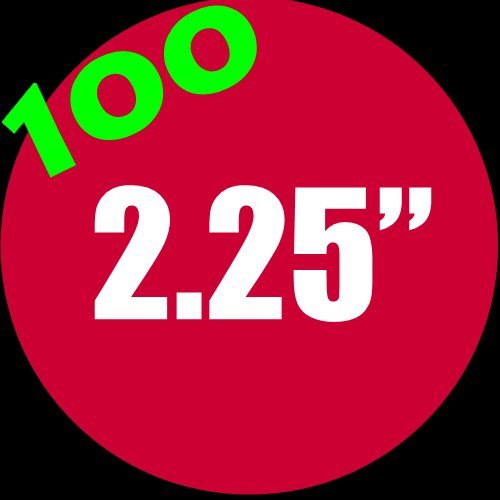 """100 - 2.25"""" Buttons"""