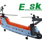 Esky Chinook Tandem Rotor RC Remote Control Helicopter