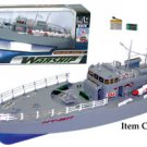 "19.5"" Remote Radio Controlled Battleship Boat"