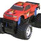 """14.5"""" Titan Monster Demolition Derby Truck RED"""