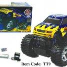"""14.5"""" Titan Monster Demolition Derby Truck BLUE"""