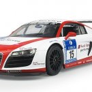 """12"""" 1:14 Audi R8 LMS Performance Model with LED Lights Red AR814R"""