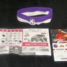Morris Peterson Game Worn Official NBA Headband!