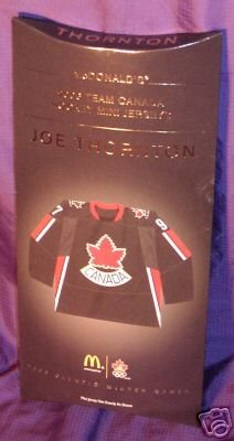 Team Canada All New & Highly Collectible Mini Jersey of Joe Thornton # 97