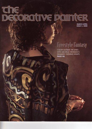 The Decorative Painter Magazine March April 2000 Tole Patterns