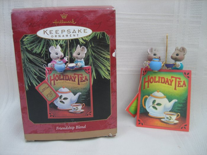 Hallmark Keepsake Ornament Friendship Blend 1997 Mice