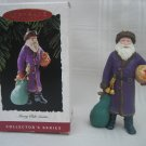 Collectible Hallmark Keepsake Ornament Merry Ole Santa 1994 Purple
