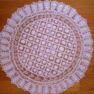 Doily / Traycloth in Renaissance Lace - DRL004
