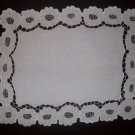 Richelieu Doily / Traycloth in Floral Design