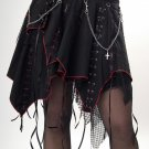 Large Ribbon and Chains Deadthreads Skirt