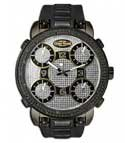 Grand Master 5 time zone 22 diamonds watch