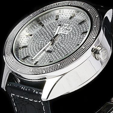 IceTime 20 Diamond Double Decker 48mm Watch Silver Face