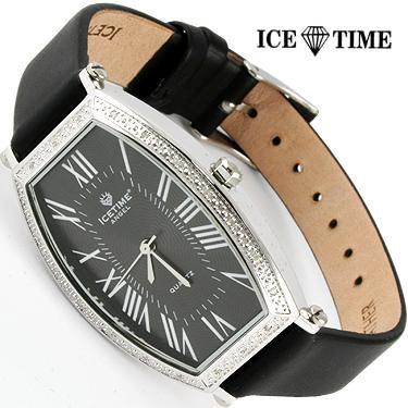 New IceTime angel 20 Diamonds Black Face watch AG-01