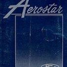 1988 Ford Aerostar Owner's Manual - AM0041