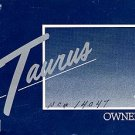 1988 Ford Taurus Owner's Manual - AM0058