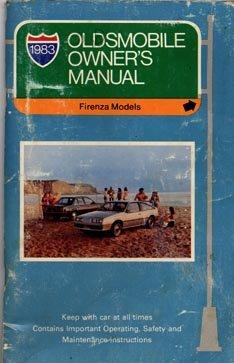 1983 Oldsmobile Firenza Owner's Manual - AM0022