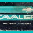 1989 Chevrolet Cavalier Owner's Manual - AM0014