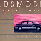 1990 Oldsmobile Cutlass Calais Owner's Manual - AM0013