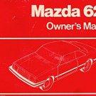 1981 Mazda 626 Owner's Manual - AM0008