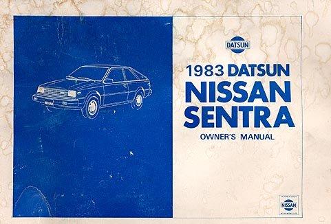 1983 Nissan Sentra Owner's Manual - AM0007