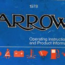 1978 Plymouth Arrow Owner's Manual - AM0060