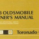 1973 Oldsmobile Toronado Custom Owner's Manual - AM0061