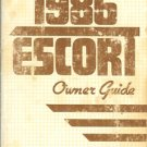 1986 Ford Escort Owner's Guide - AM0066