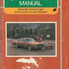 1983 Oldsmobile Delta 88, Ninety-Eight and Custom Cruiser Models - AM0062