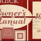 1977 Buick Skylark Owner's Manual - AM0032