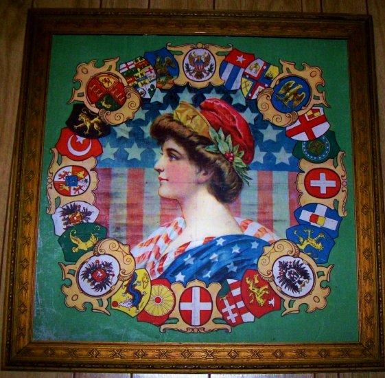 COLUMBIA - 1908 WORLD EXPO