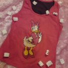 The pink donald duck vest