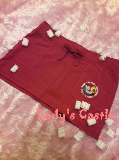 The Hawaii Sunshine red skirt