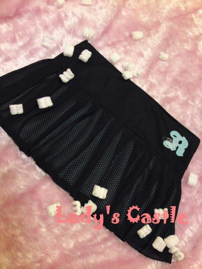 The Roxy black & blue skirt